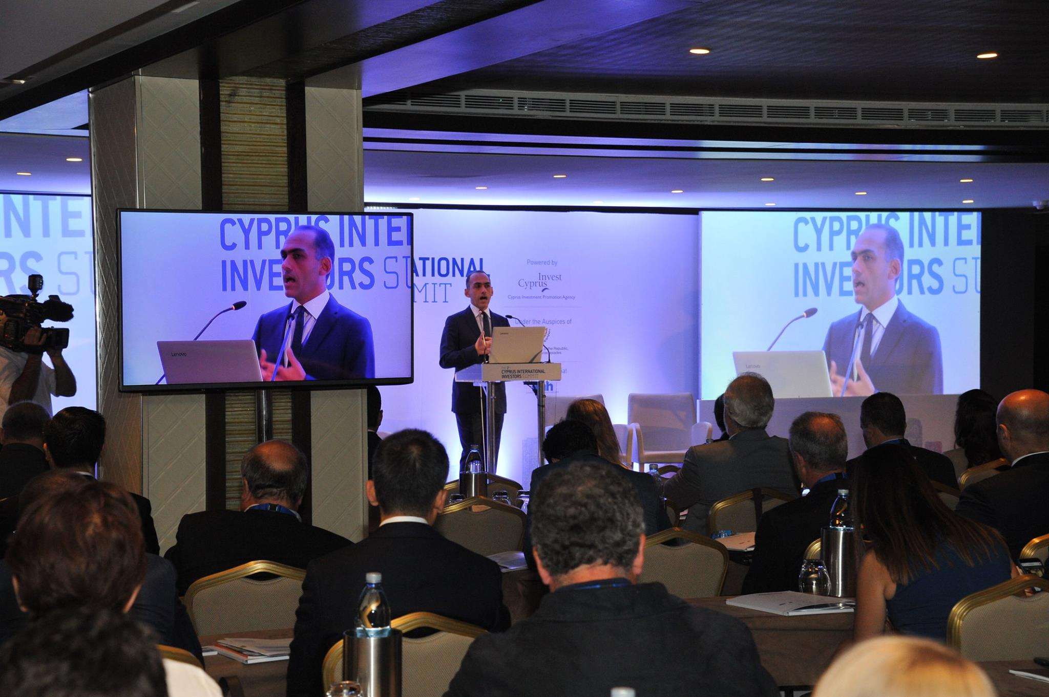 Harris Georgiades-Minister of Finance of the Republic of Cyprus.jpg