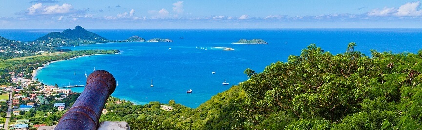 From the hill of Belair, Grenada