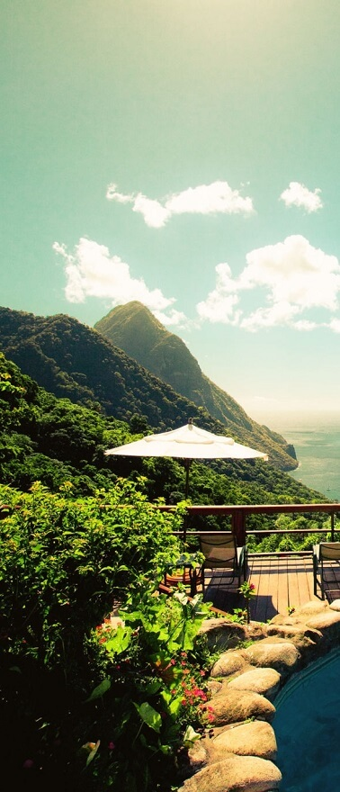 You can get St Lucia citizenship by investing in real estate projects