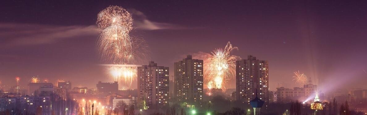 moldova capital at night