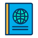 Passport (Icons made by https://www.flaticon.com/authors/kiranshastry)