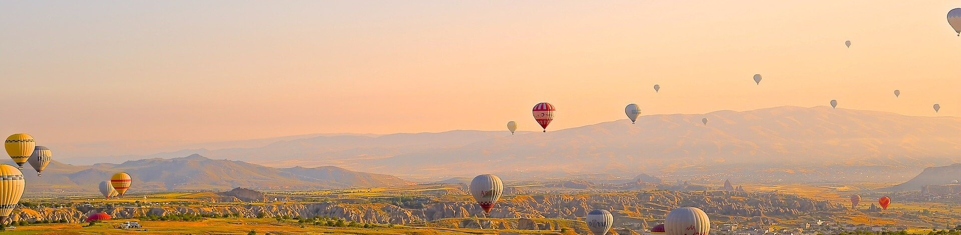 turkey citizenship by investment can be the gate to experiencing hot air ballooning over Cappadocia